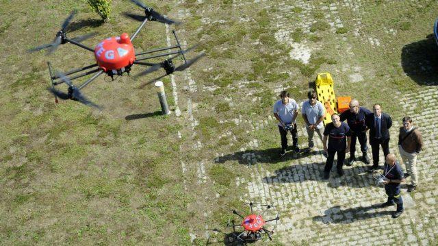 Drones para emergencias