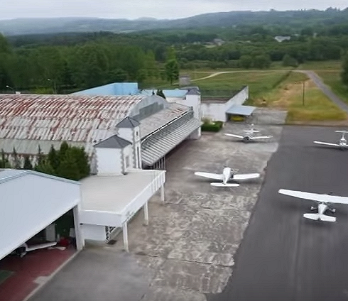 Aeródromo de Rozas. Aerosar