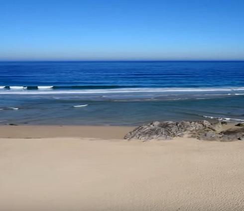 Playa de Espiñeirido. Porto do Son. Aerosar