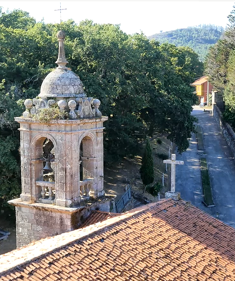 Convento de Herbón. Aerosar, imágenes aéreas