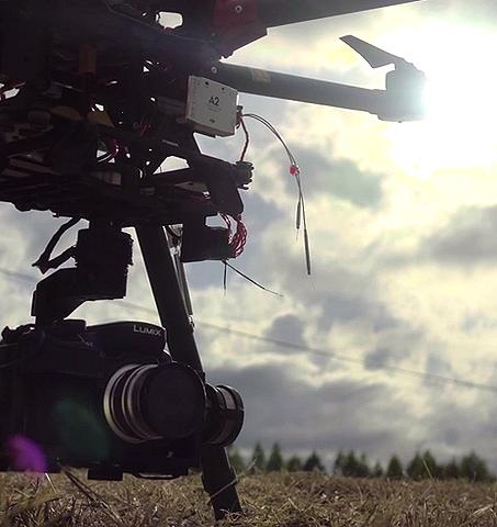Aerosar, imágenes aéreas con drones