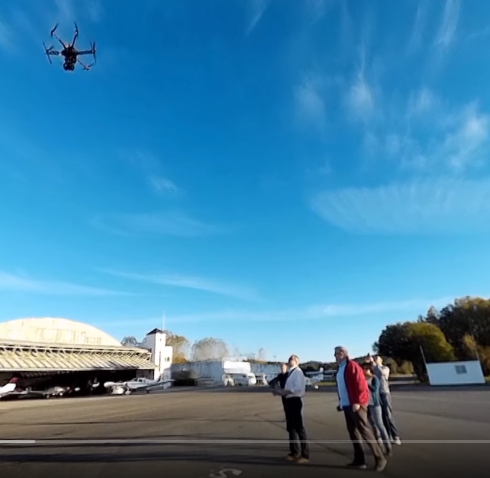 Test de vídeo 360 para Spherical Video. Aerosar