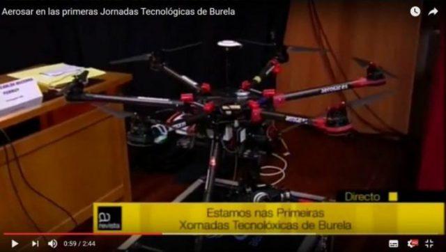 Aerosar en Burela
